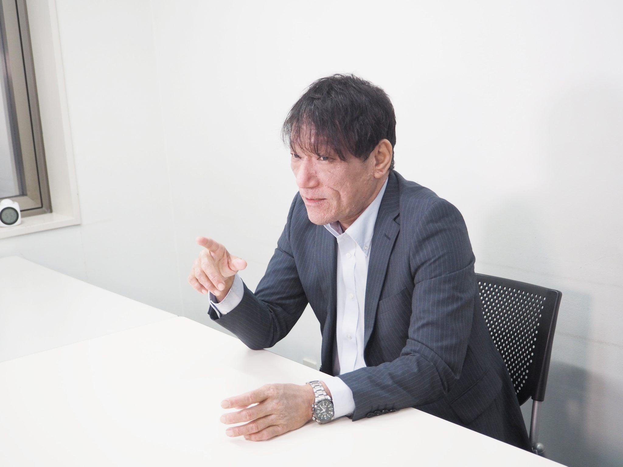 溝畑 尚一さんのシーカーズインタビュー風景