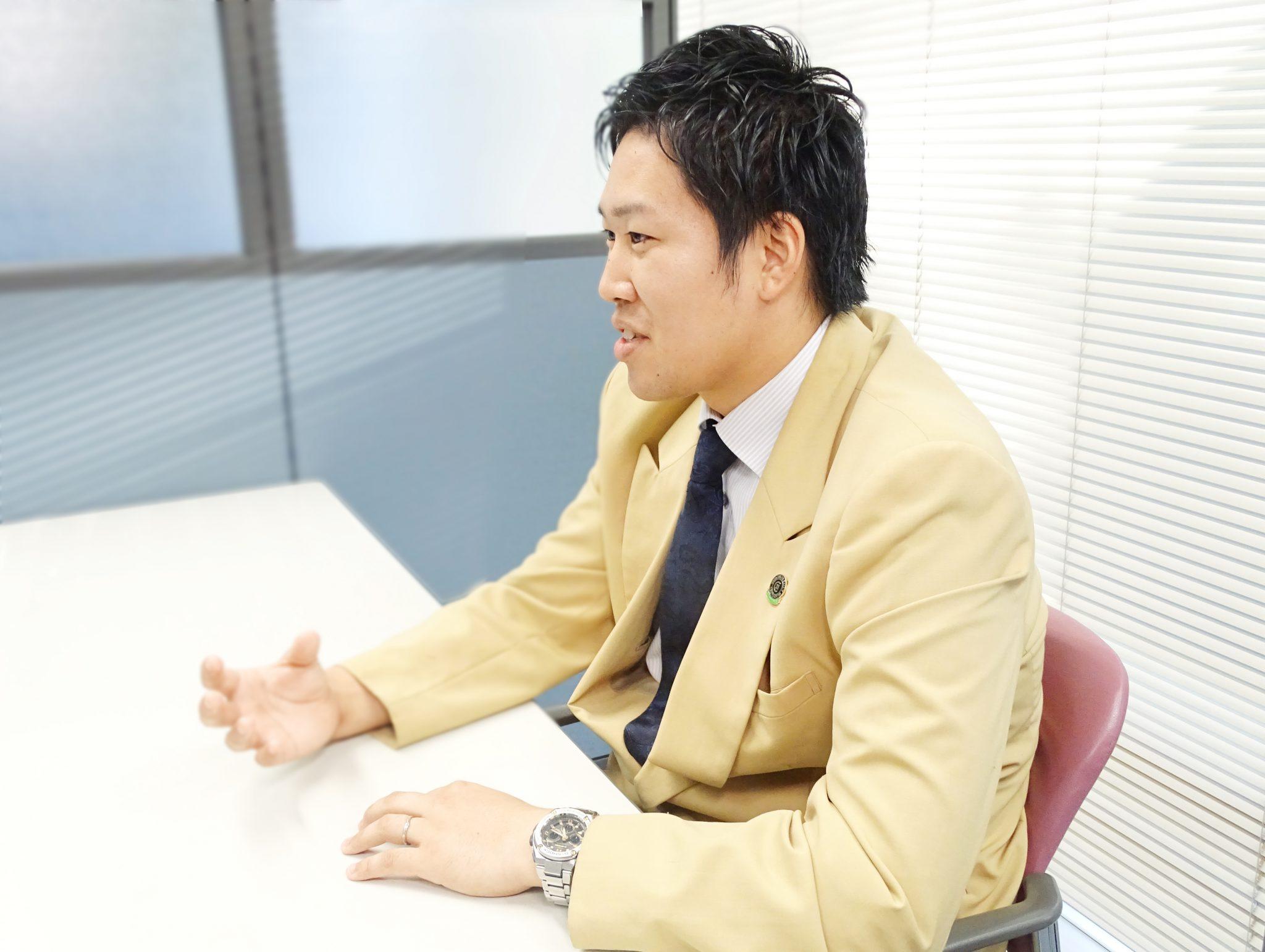 吉川 宗一さんのシーカーズインタビュー風景