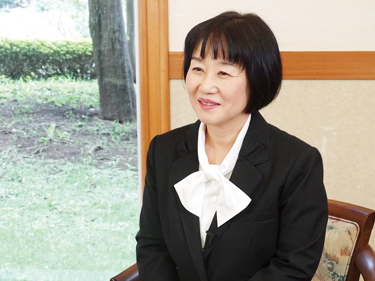 菊池 由紀子さんのシーカーズインタビュー風景