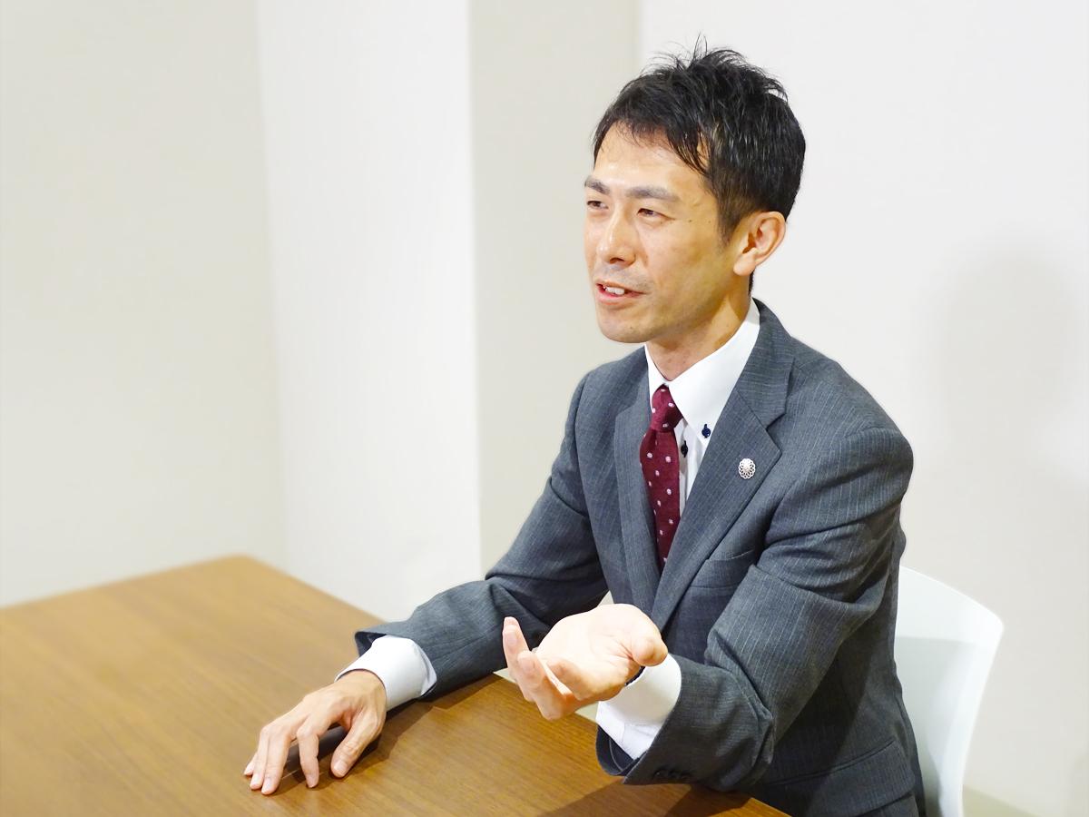 シーカーズインタビューを受ける木村 雄士さん