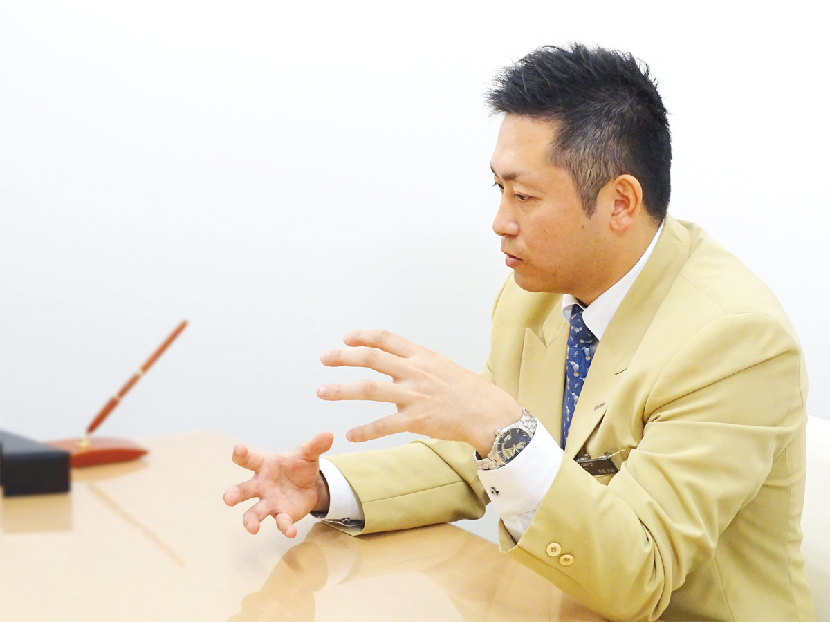 巻島 大宙さんのシーカーズインタビュー風景