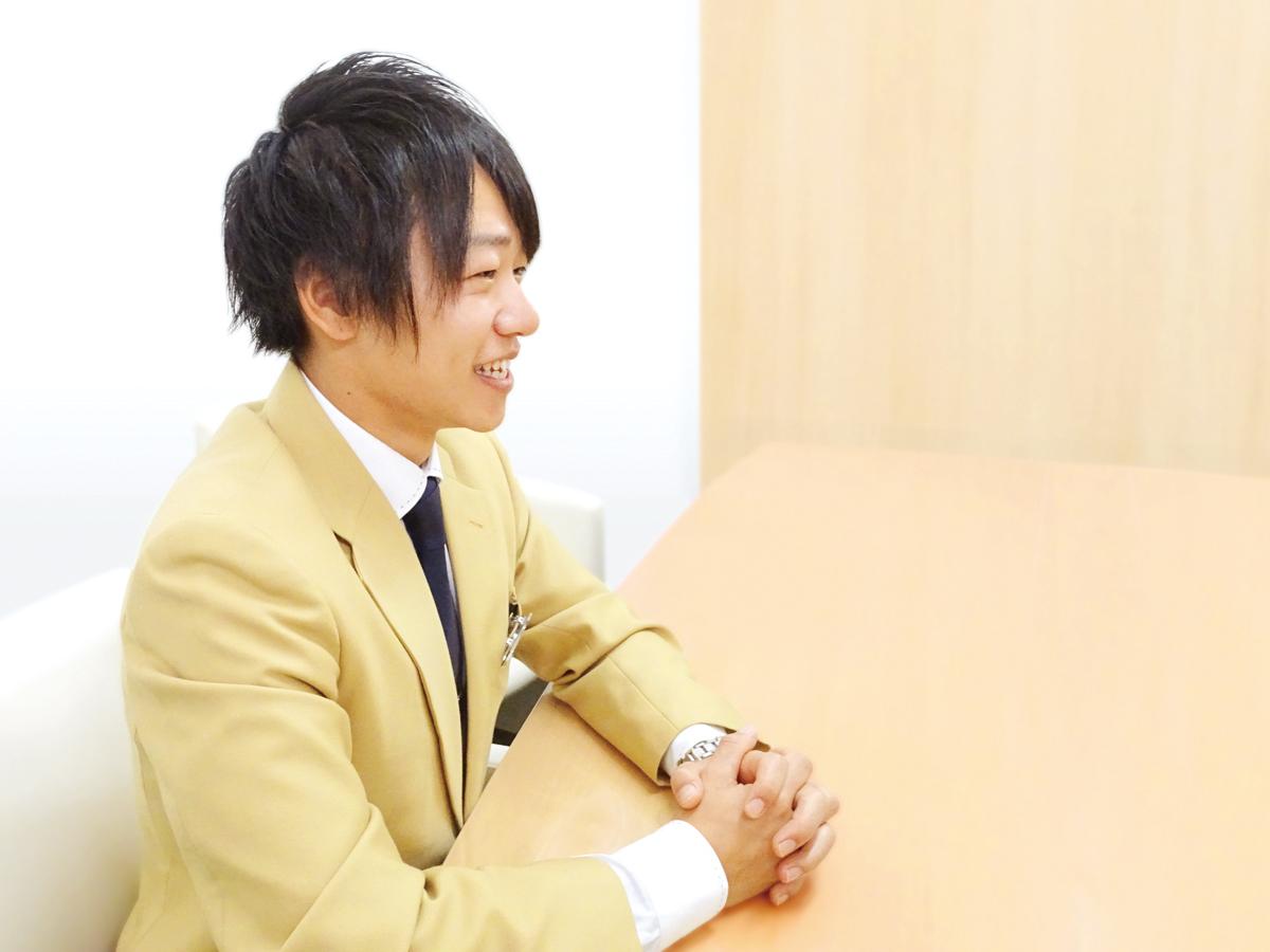 伊藤 優さんのシーカーズインタビュー風景