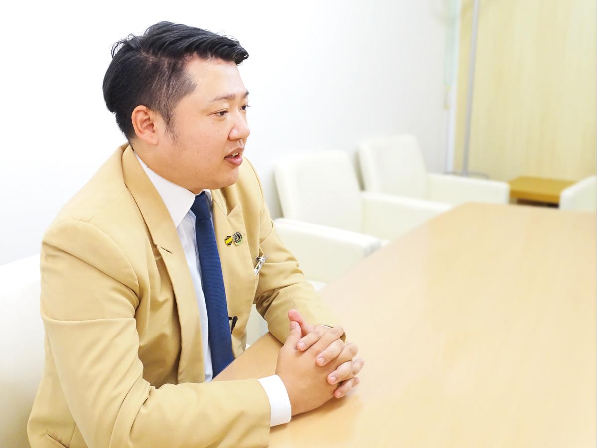 小泉 篤史さんのシーカーズインタビュー風景